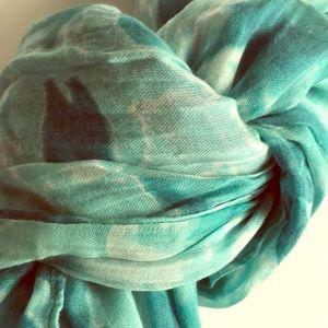 J.Jill Cotton/wool blend scarf NWOT
